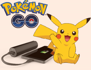 Portable powerbanks: essential for Pokémon Go!